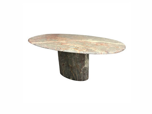 1970s Hollywood Regency Roche-Bobois Marble Dining Table