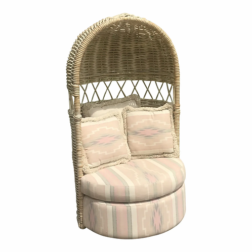 Bamboo Hooded Dome Chair