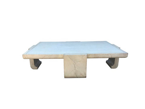 Alessandro for Baker Furniture Company Ming Leg Coffee Table