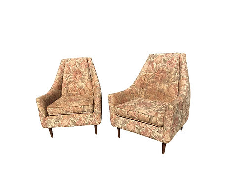 Surprising Mid Century Modern Early Milo Baughman Lounge Chairs A Pair Forskolin Free Trial Chair Design Images Forskolin Free Trialorg