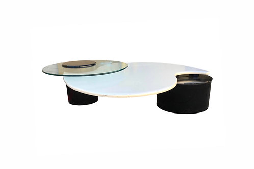 1980s Post Modern Rougier Coffee Table
