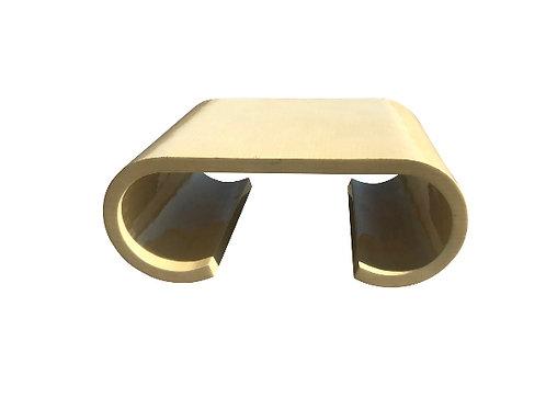 Enrique Garcel Tessellated Bone Scroll Coffee Table