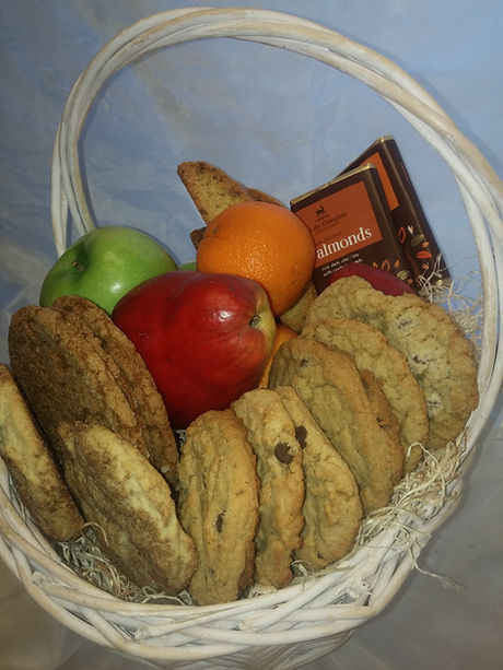 Cookies and Fruit Gift Basket