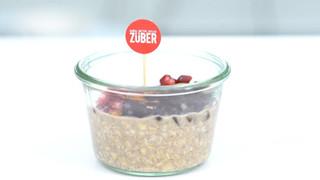 Züber Çikolata - Yulaflı Züber Kahvaltı