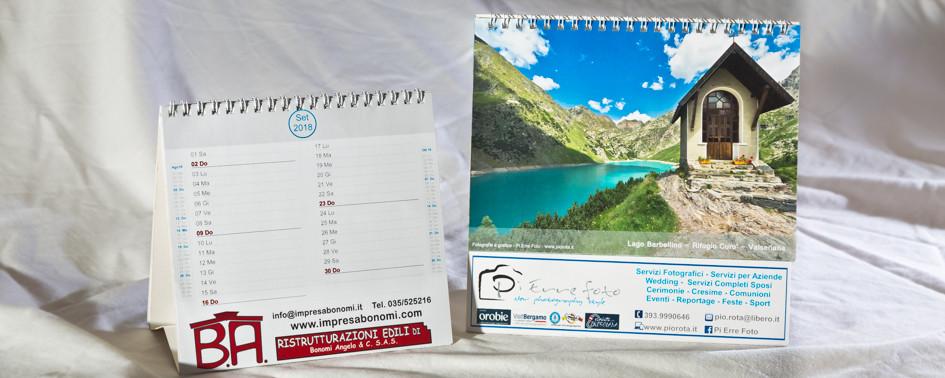 Esempio Calendario Tavolo
