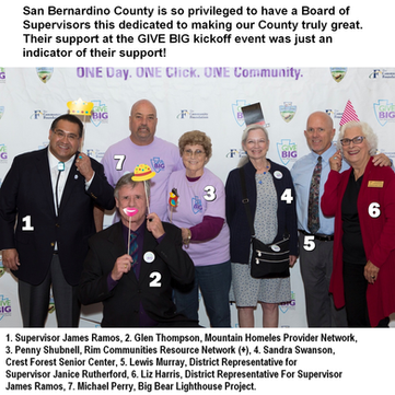 San Bernardino County Board of Supervisors