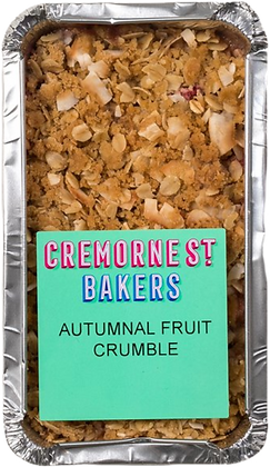 Cremorne Street Bakers / Autumn Fruit Crumble