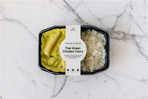 Foxes Den / Thai Green Chicken Curry (Delivered Frozen)
