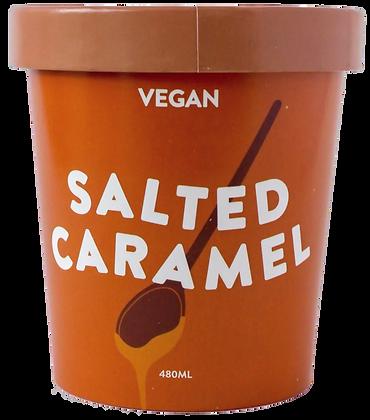 SALTED CARAMEL ICE CREAM (480g)