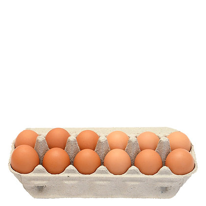 Burd Eggs / 1 Dozen / 12 Free Range Eggs / 700g Cartons