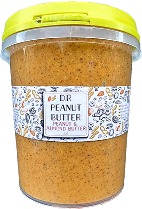 DR. PEANUT BUTTER / DOUBLE ROASTED / Peanut & Almond / 1KG