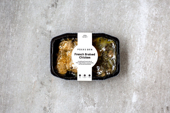 Foxes Den / French Braised Chicken