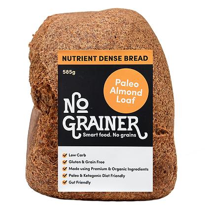 NO GRAINER / Gluten Free / Paleo Almond Loaf / 585g