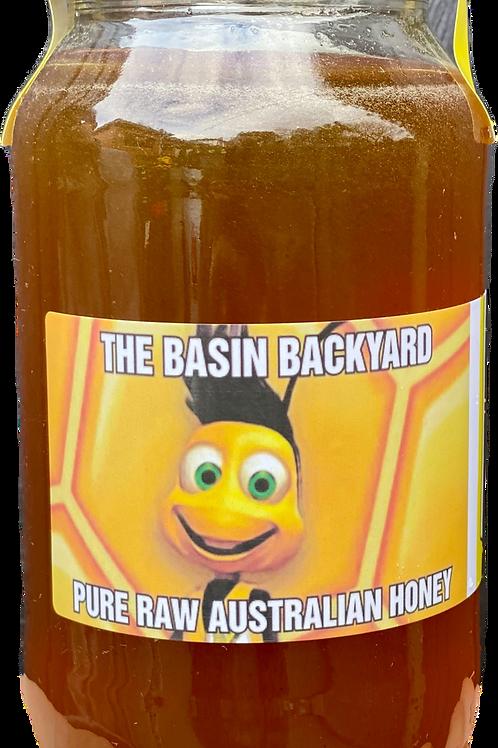 The Basin Backyard / RAW HONEY / Mixed Blossom / 1L