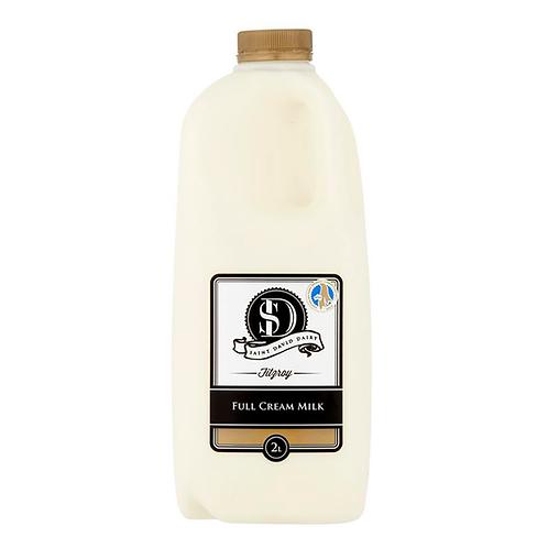 Saint David Dairy / Full Cream Milk / 2L