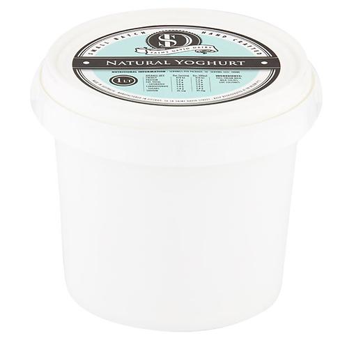Saint David Dairy / Natural Yoghurt / 1 Litre