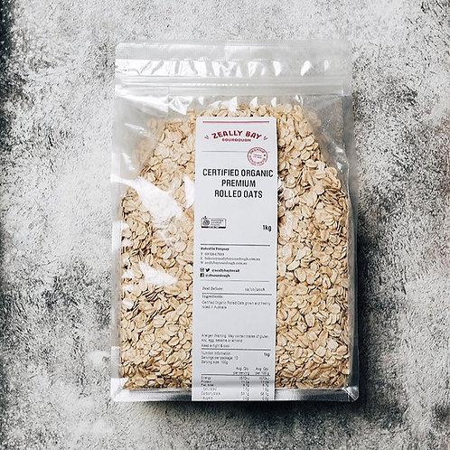 ZEALLY BAY / ORGANIC ROLLED OATS / 1kg