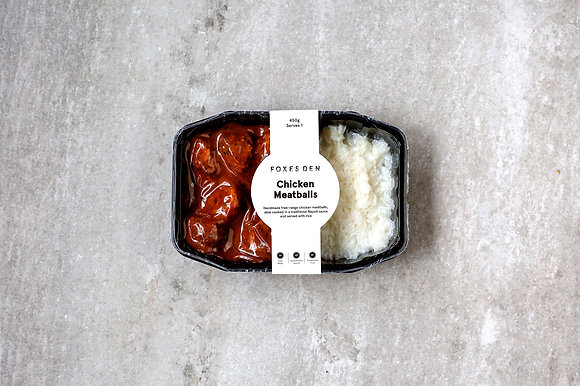 Foxes Den / Chicken Meatballs