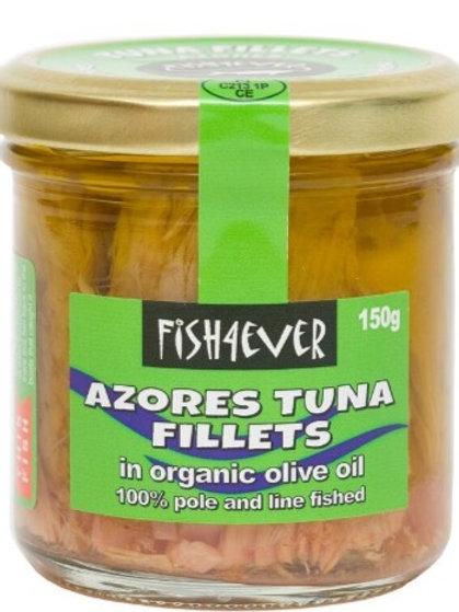 FISH4EVER TUNA IN OLIVE OIL