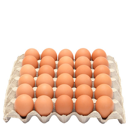 Burd Eggs / 1 Tray / 30 Free Range Eggs