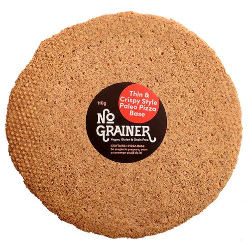 NO GRAINER / Gluten Free / Thin & Crispy Style Paleo Pizza Base