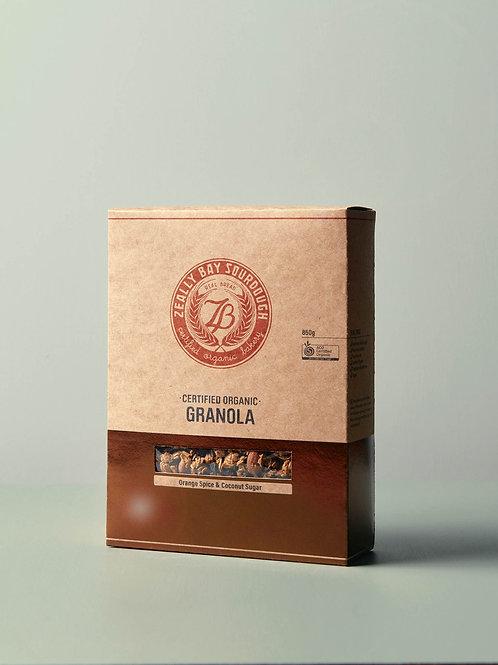 ZEALLY BAY / Orange Spice Granola / 850g