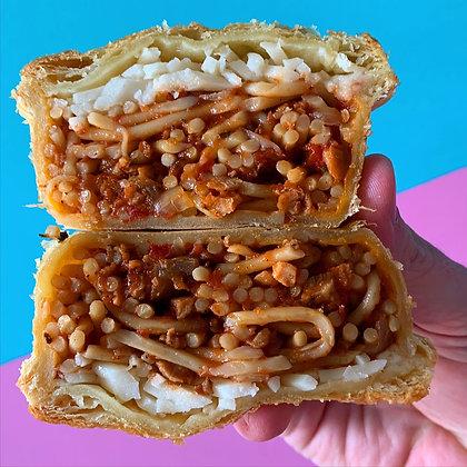 Pie Thief / Vegan Spaghetti Bolognese Pie