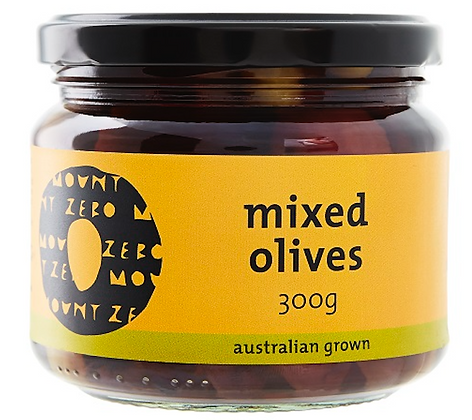 MOUNT ZERO / Organic Mixed Olives / 300g