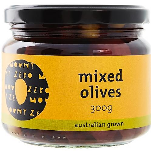 MOUNT ZERO / Organic Mixed Olives / 300g