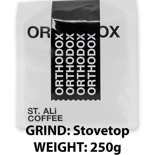 ST. ALi / ORTHODOX ESPRESSO BLEND / Stovetop / 250g