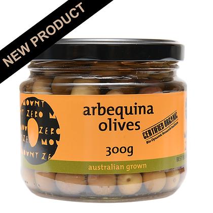 MOUNT ZERO / Organic Arbequina Olives / 300g