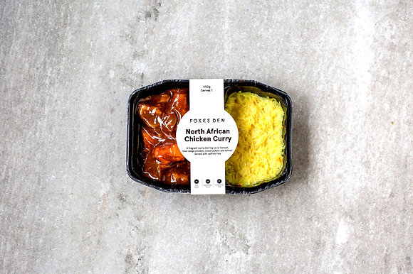Foxes Den / North African Chicken Curry