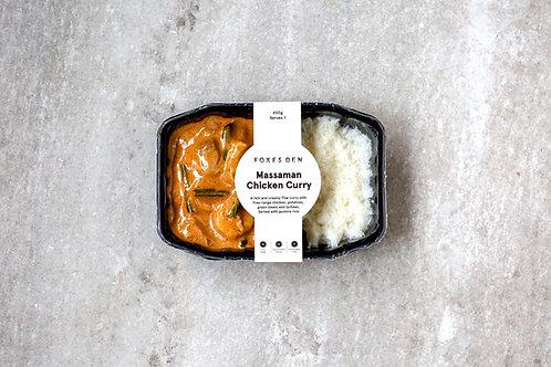 Foxes Den / Massaman Chicken Curry (Delivered Frozen)
