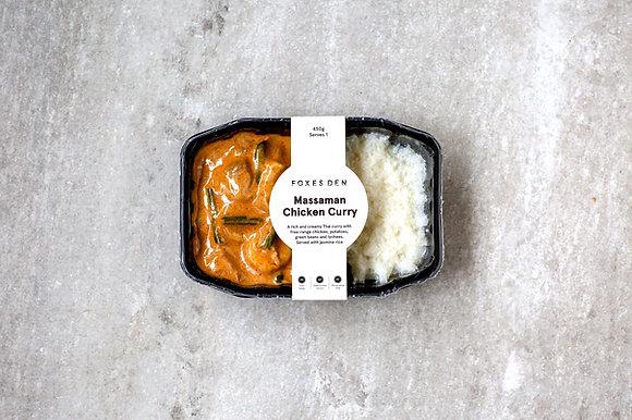 Foxes Den / Massaman Chicken Curry