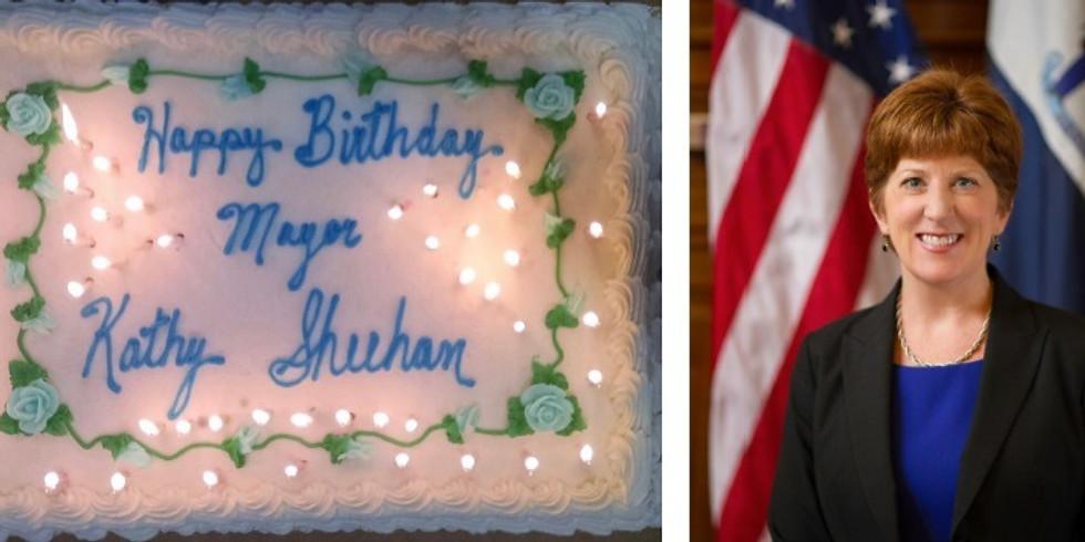 Mayor Kathy Sheehan's Birthday Celebration at Martel's