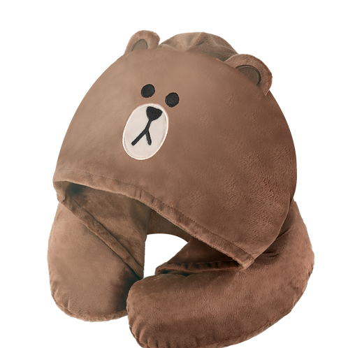 LINE FRIENDS BROWN Neck Pillow/頸枕