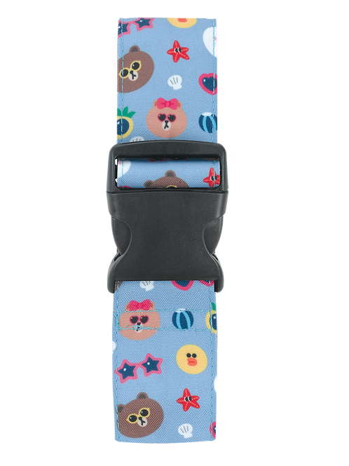 LINE FRIENDS SUMMER Luggage Strap/行李帶
