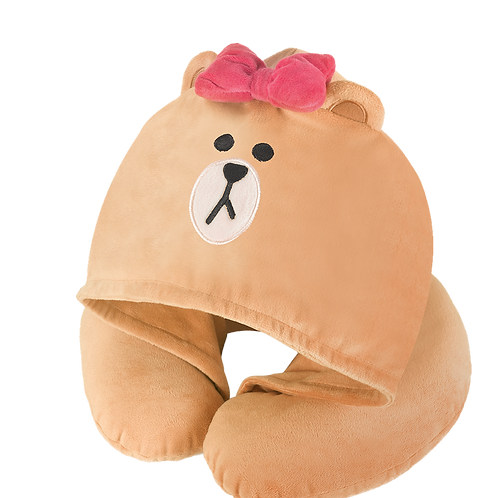 LINE FRIENDS CHOCO Neck Pillow/頸枕