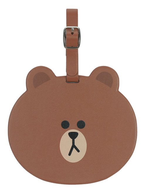 LINE FRIENDS BROWN Luggage Tag/行李牌