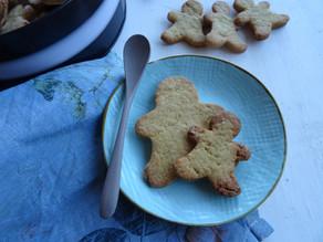 Biscotti all'olio d'oliva e zucchero di lamponi