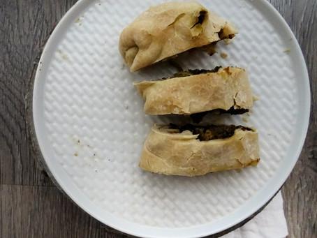 Strudel salato: SOS avanzi natalizi