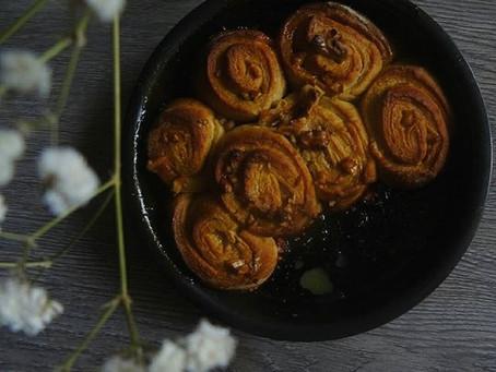 Girelle al miele e noci, una ricetta in evoluzione