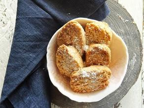 Biscotti rustici al cocco anti-spreco