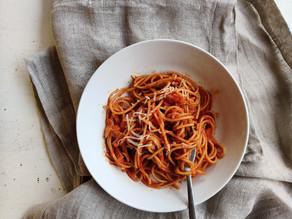 Ritrovarsi: spaghetti al sugo gigetto