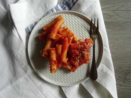 Pasta al forno, what else?