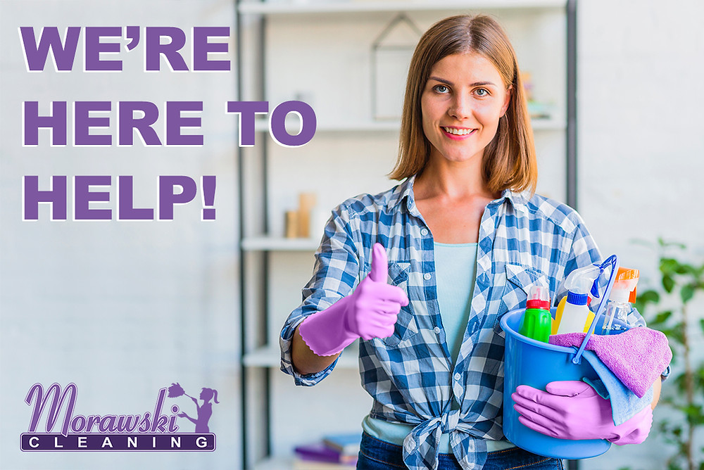We're here to help! Office and sanitaion cleaning available.
