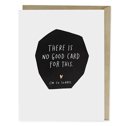 Cancer Empathy Greeting Card: There is no good card for this by Emily McDowell