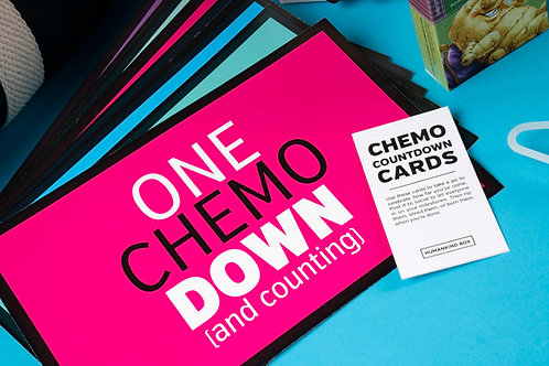 Chemo Countdown Cards for Social Media