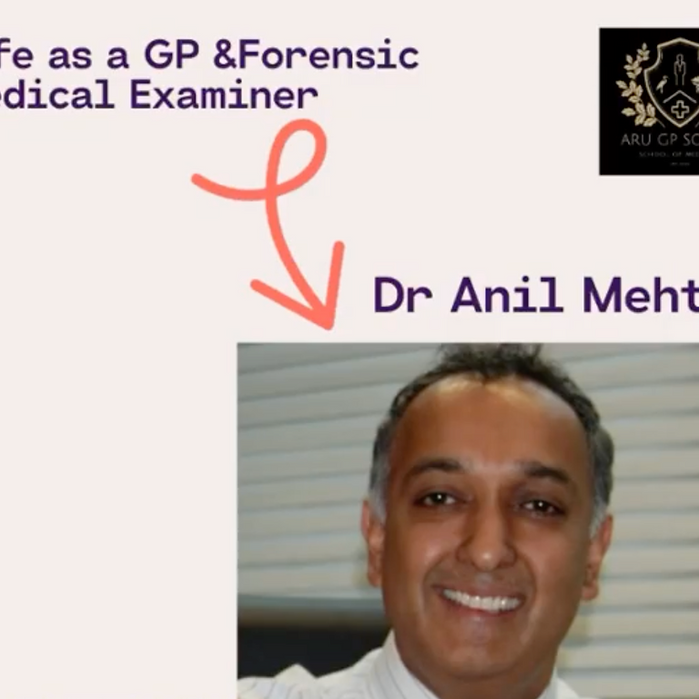 Life as a GP and Forensic Medical Examiner