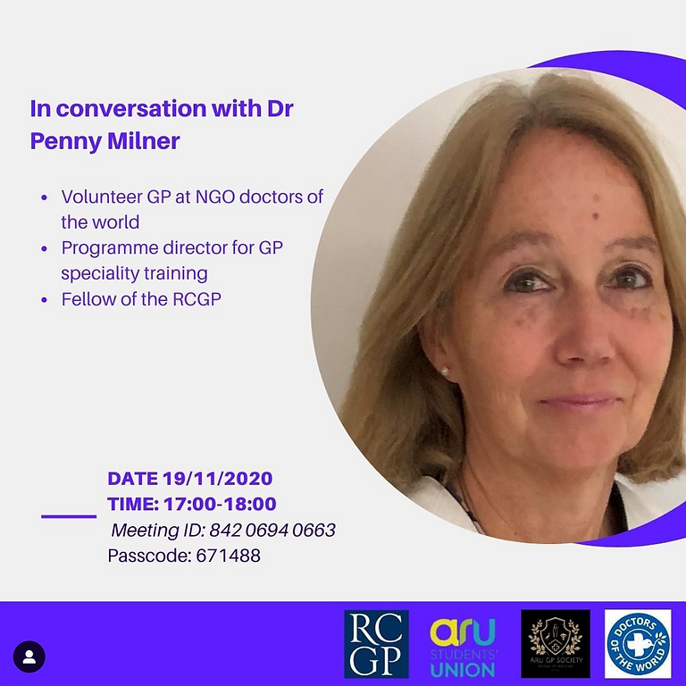In Conversation with Dr Penny Milner